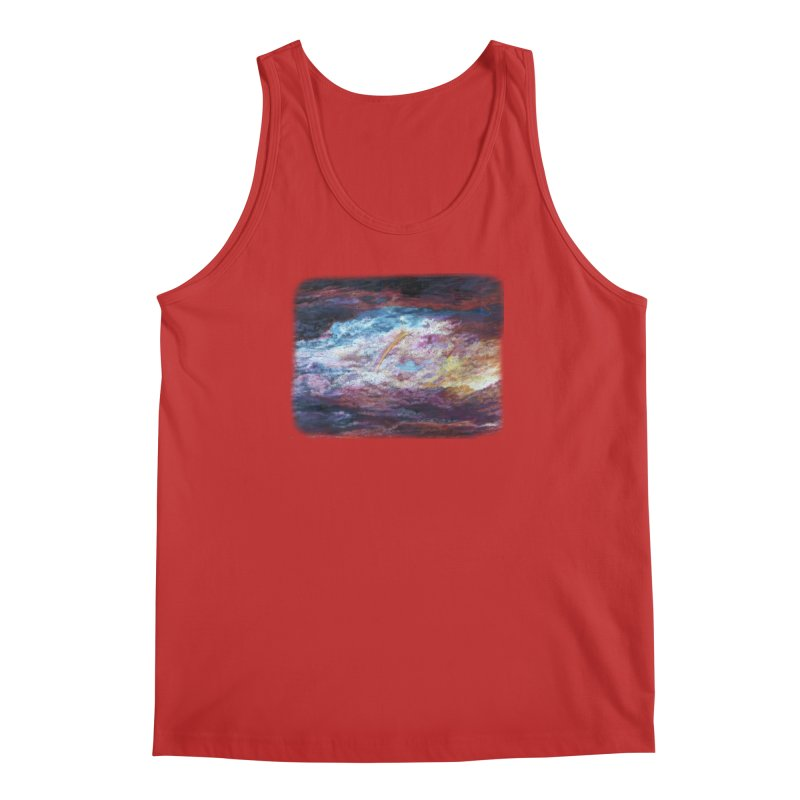 Clouds1 Men's Regular Tank by Elevated Space