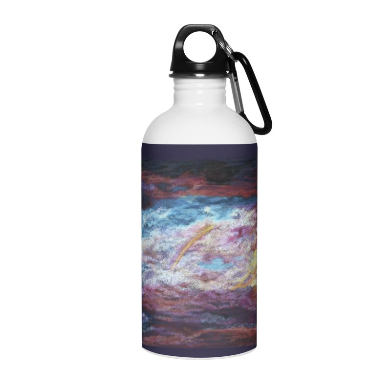Clouds1 Accessories Water Bottle by Elevated Space