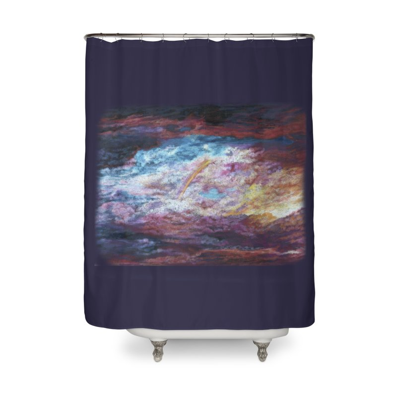 Clouds1 Home Shower Curtain by Elevated Space