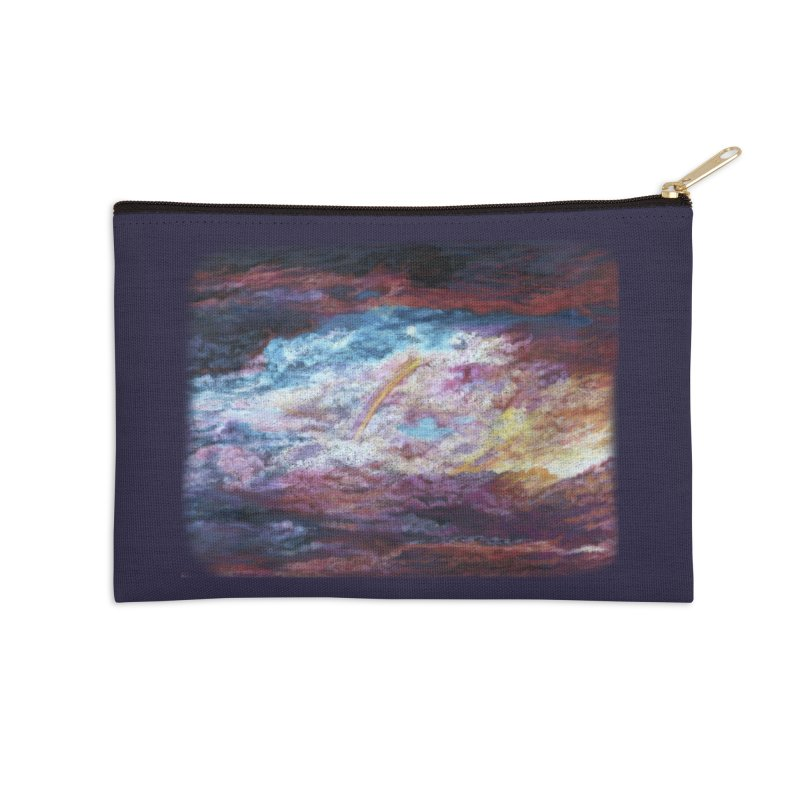 Clouds1 Accessories Zip Pouch by Elevated Space