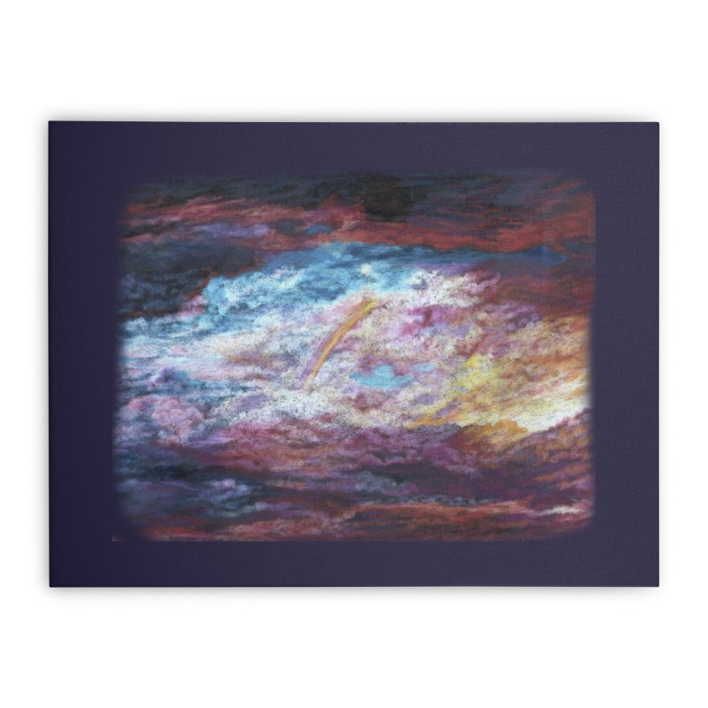 Clouds1 Home Stretched Canvas by Elevated Space