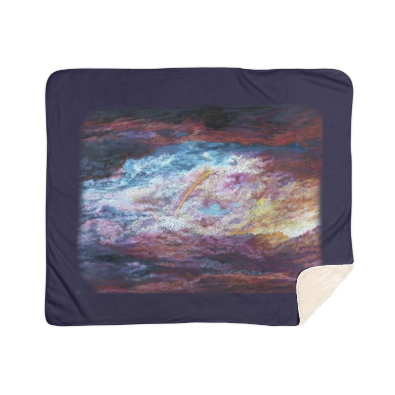 Clouds1 Home Sherpa Blanket Blanket by Elevated Space