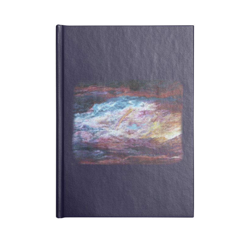 Clouds1 Accessories Lined Journal Notebook by Elevated Space