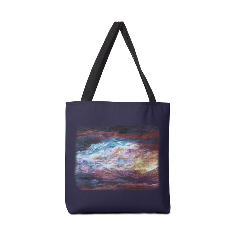 Clouds1 Accessories Tote Bag Bag by Elevated Space