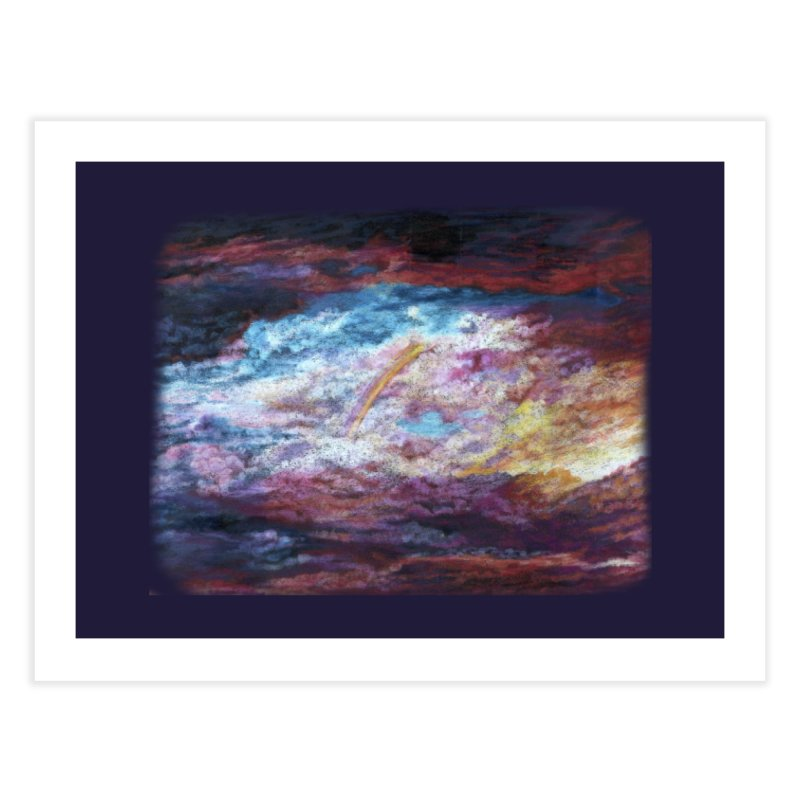 Clouds1 Home Fine Art Print by Elevated Space