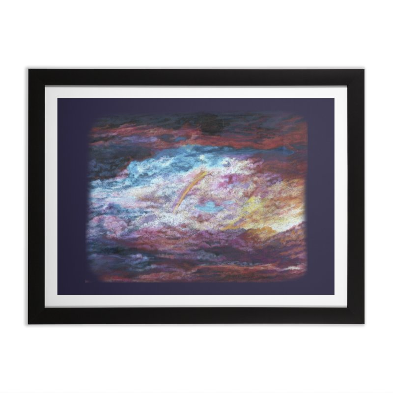 Clouds1 Home Framed Fine Art Print by Elevated Space