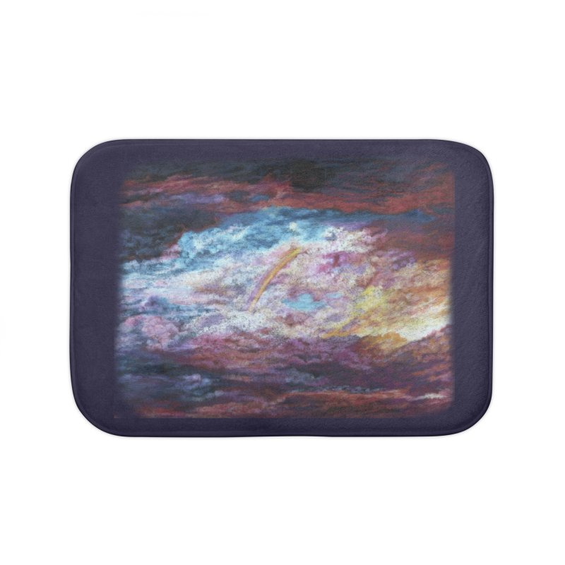 Clouds1 Home Bath Mat by Elevated Space