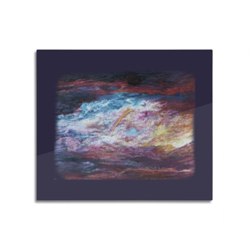 Clouds1 Home Mounted Aluminum Print by Elevated Space