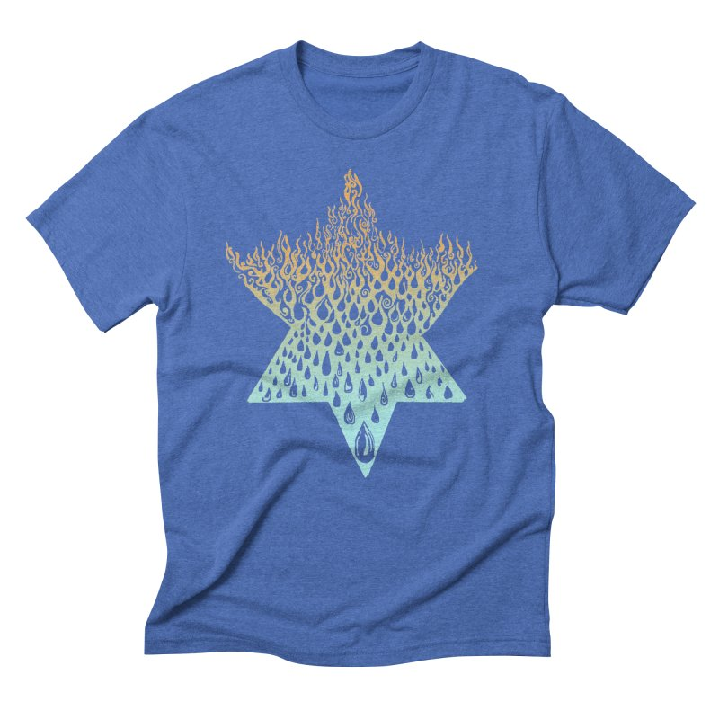 star of david tshirt Men's T-Shirt by Elevated Space