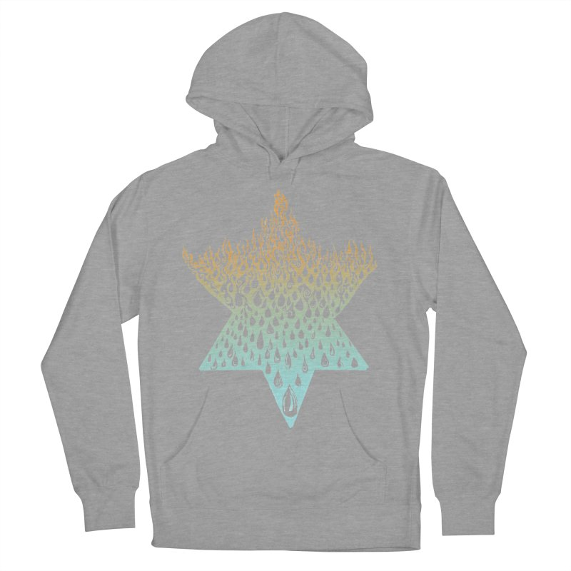 star of david tshirt Men's French Terry Pullover Hoody by Elevated Space
