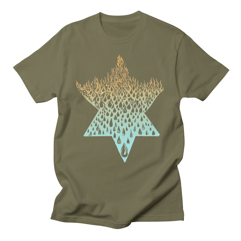 star of david tshirt Women's Regular Unisex T-Shirt by Elevated Space