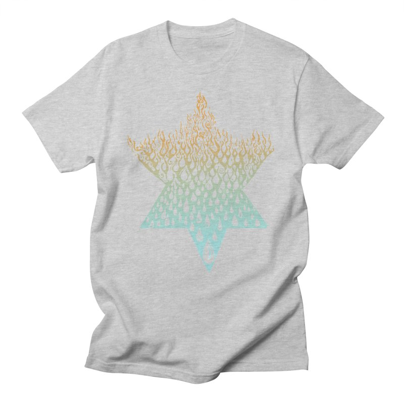 star of david tshirt Men's Regular T-Shirt by Elevated Space