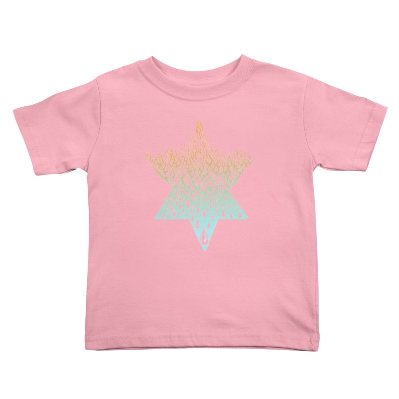 star of david tshirt Kids Toddler T-Shirt by Elevated Space