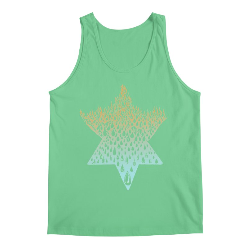 star of david tshirt Men's Regular Tank by Elevated Space