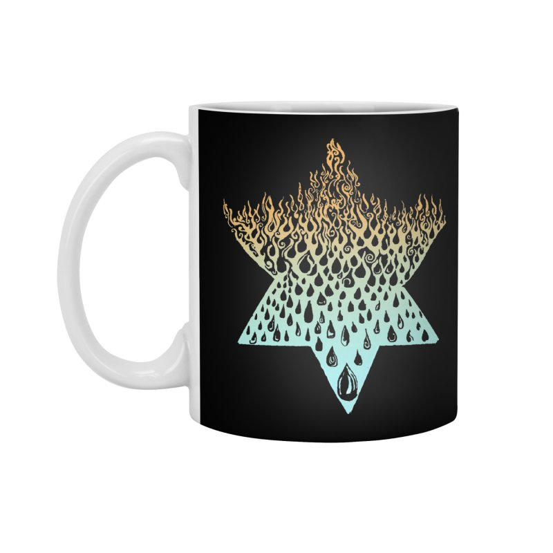star of david tshirt Accessories Standard Mug by Elevated Space