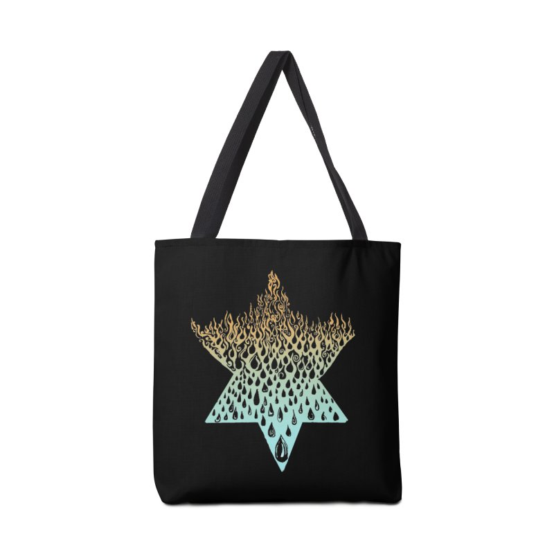 star of david tshirt Accessories Tote Bag Bag by Elevated Space