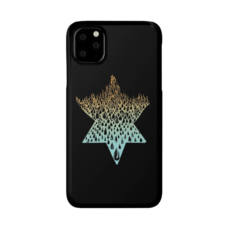 star of david tshirt Accessories Phone Case by Elevated Space
