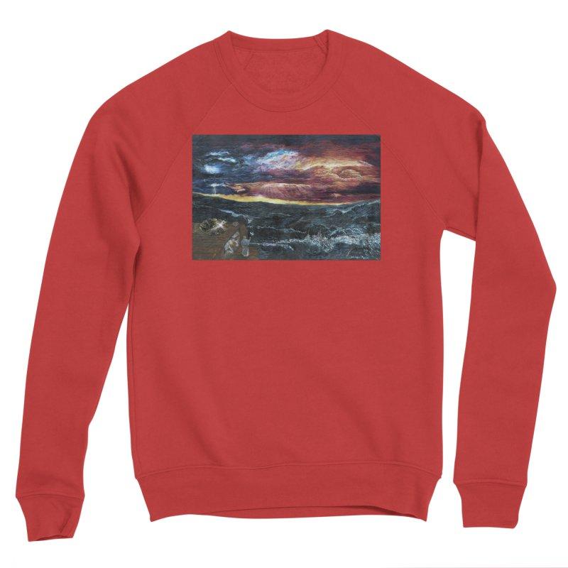 noahs ark Women's Sponge Fleece Sweatshirt by Elevated Space