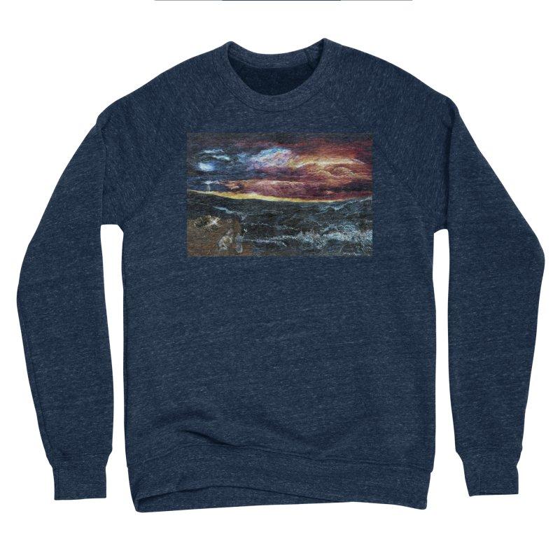 noahs ark Men's Sponge Fleece Sweatshirt by Elevated Space