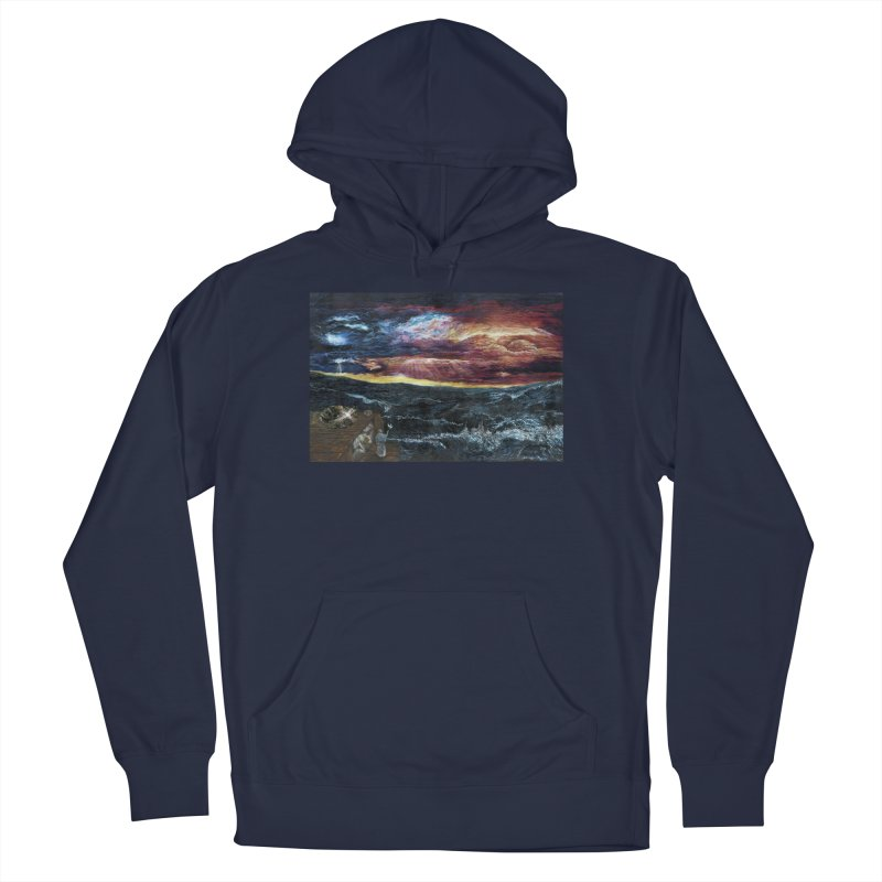 noahs ark Men's French Terry Pullover Hoody by Elevated Space