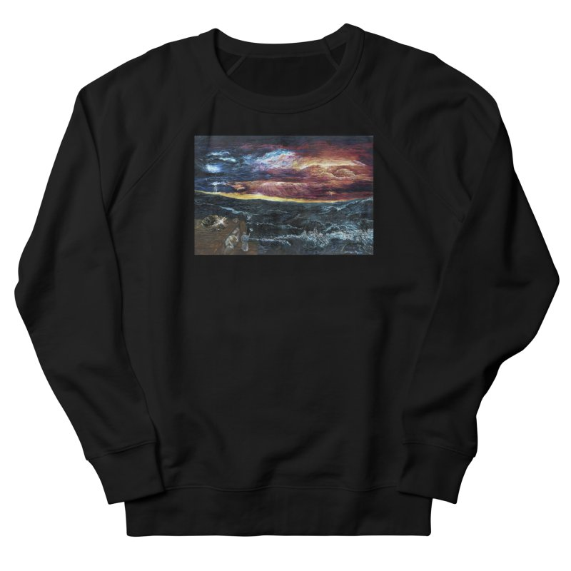 noahs ark Men's French Terry Sweatshirt by Elevated Space