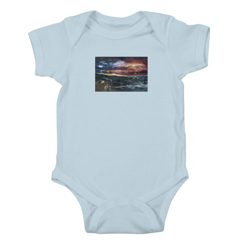 noahs ark Kids Baby Bodysuit by Elevated Space