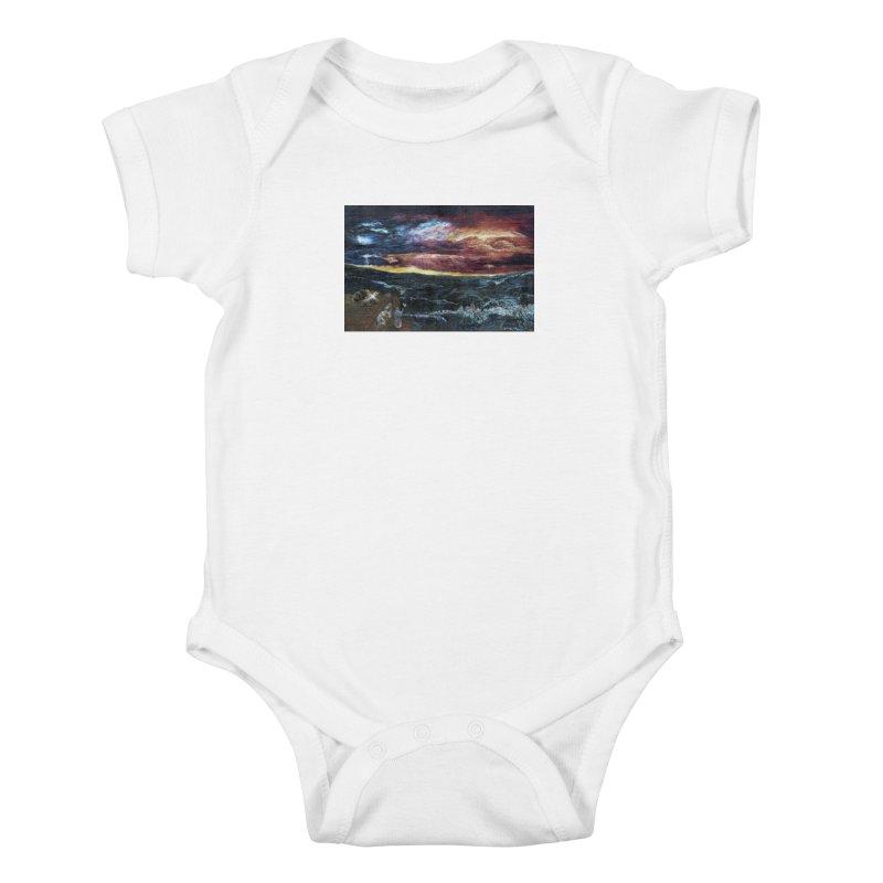 noahs ark Kids Baby Bodysuit by Elevated Space