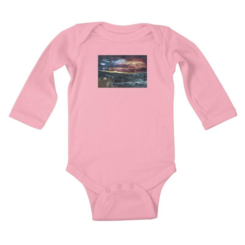 noahs ark Kids Baby Longsleeve Bodysuit by Elevated Space