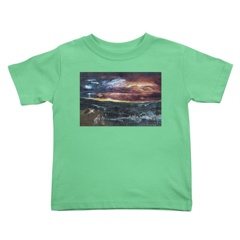 noahs ark Kids Toddler T-Shirt by Elevated Space