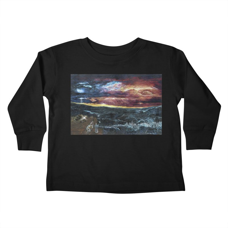 noahs ark Kids Toddler Longsleeve T-Shirt by Elevated Space