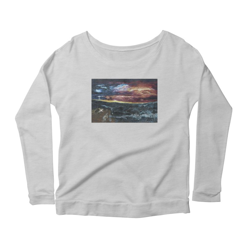 noahs ark Women's Scoop Neck Longsleeve T-Shirt by Elevated Space