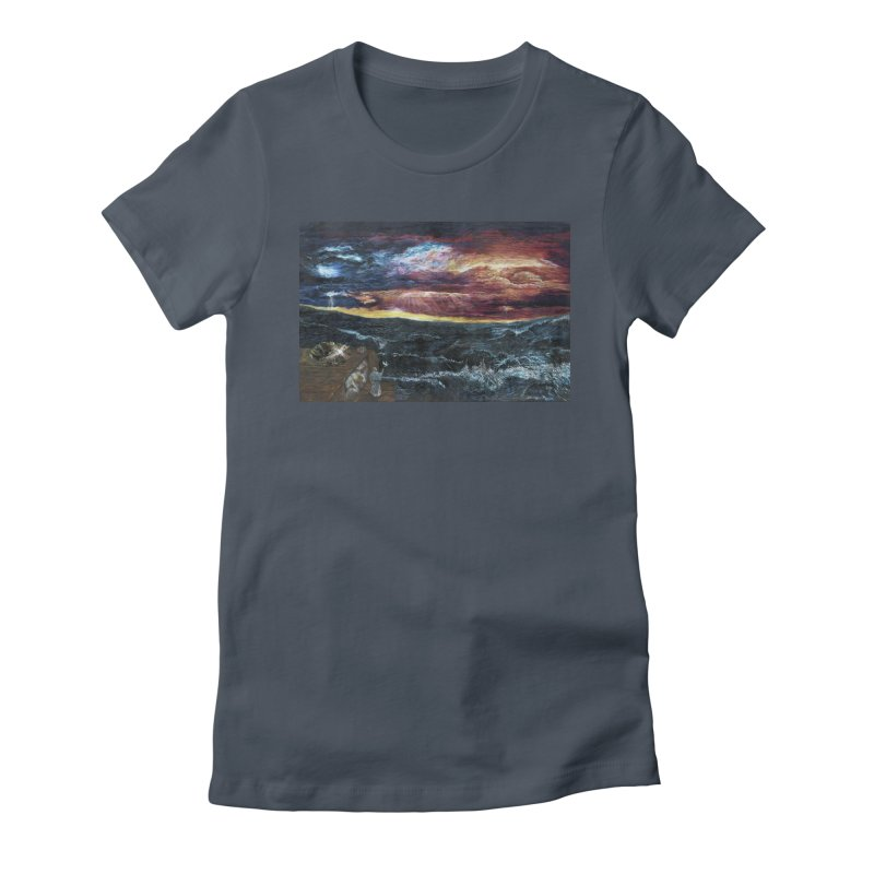 noahs ark Women's Fitted T-Shirt by Elevated Space