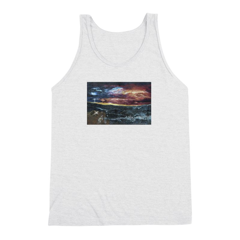 noahs ark Men's Triblend Tank by Elevated Space