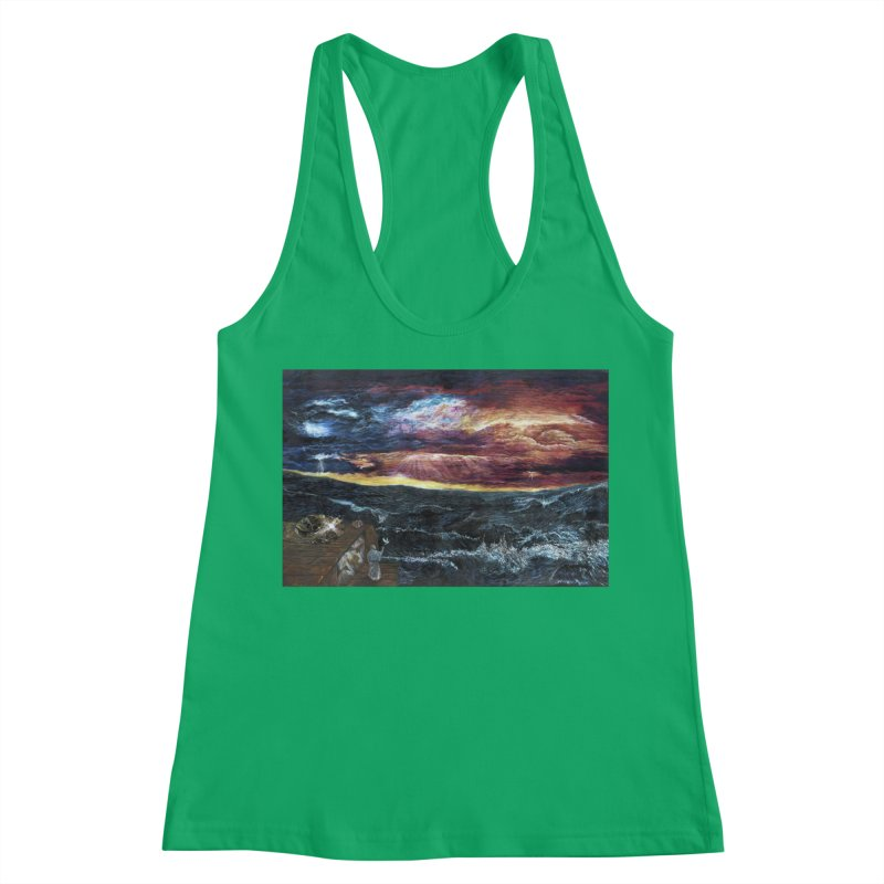 noahs ark Women's Racerback Tank by Elevated Space