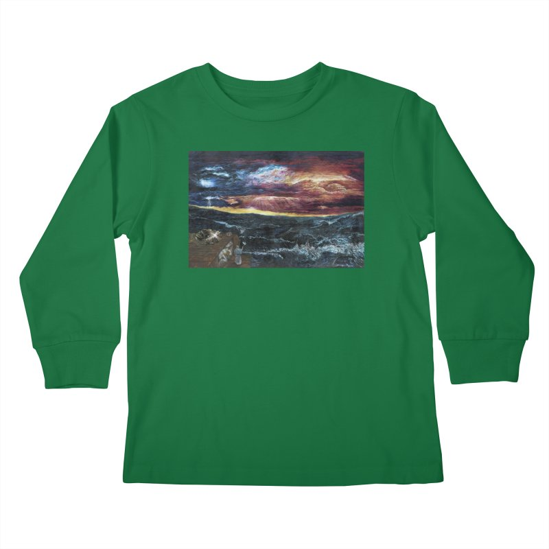 noahs ark Kids Longsleeve T-Shirt by Elevated Space