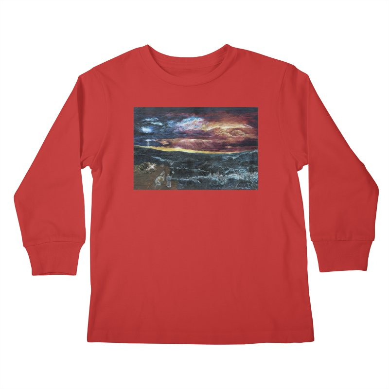 noahs ark Kids Longsleeve T-Shirt by Elevated Space