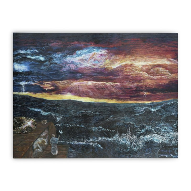 noahs ark Home Stretched Canvas by Elevated Space