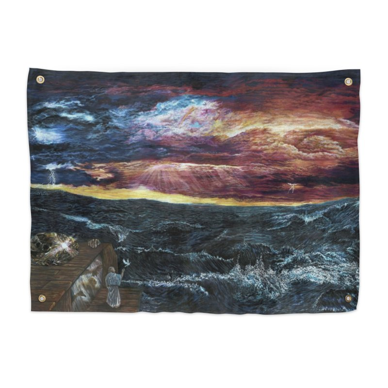 noahs ark Home Tapestry by Elevated Space
