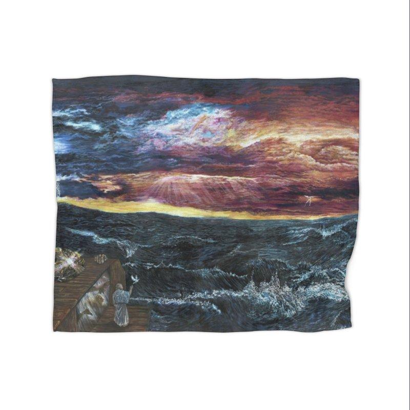 noahs ark Home Fleece Blanket Blanket by Elevated Space