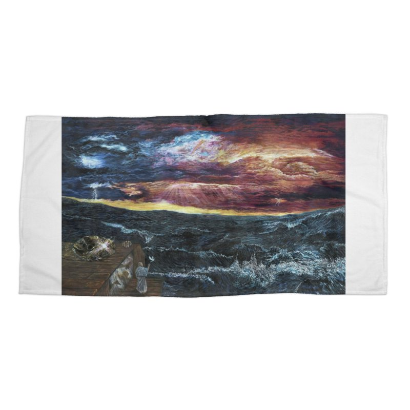 noahs ark Accessories Beach Towel by Elevated Space