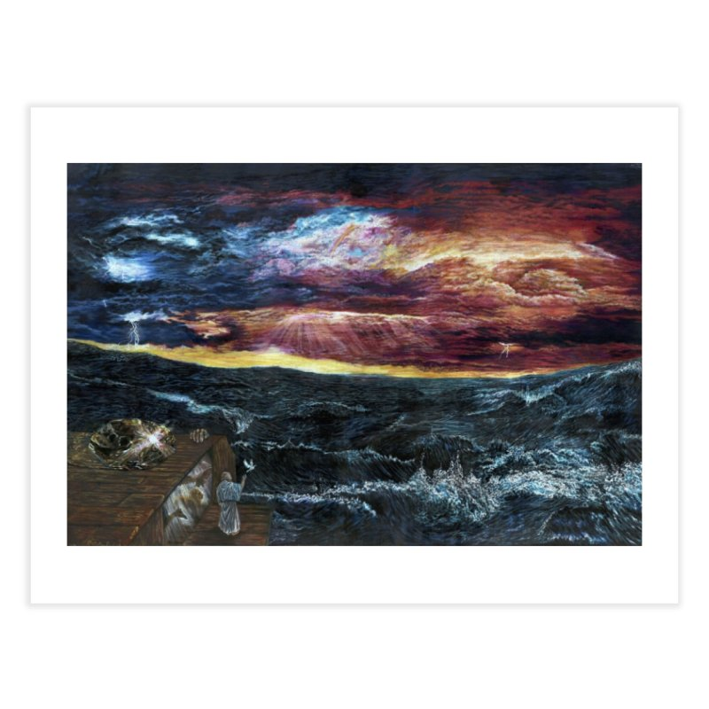 noahs ark Home Fine Art Print by Elevated Space