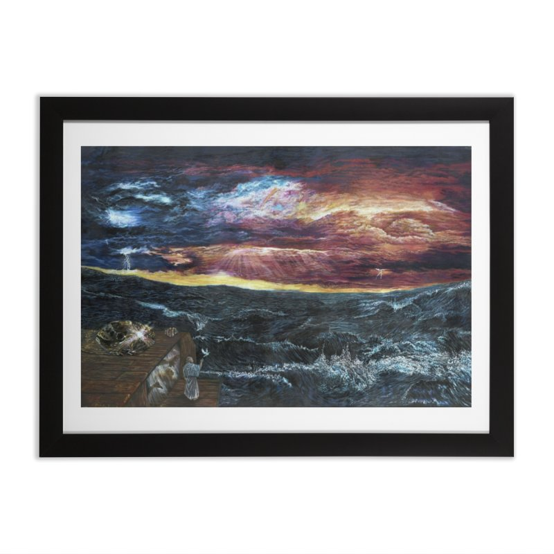 noahs ark Home Framed Fine Art Print by Elevated Space