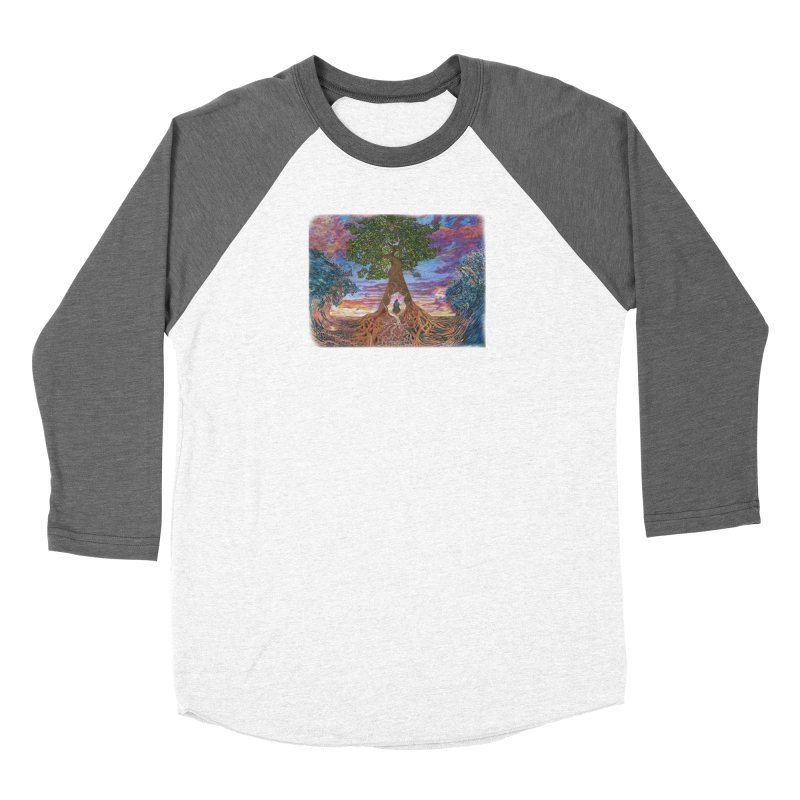 Birth Women's Baseball Triblend Longsleeve T-Shirt by Elevated Space