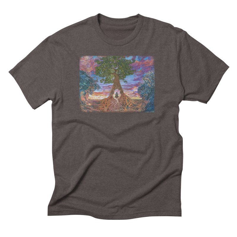 Birth Men's Triblend T-Shirt by Elevated Space