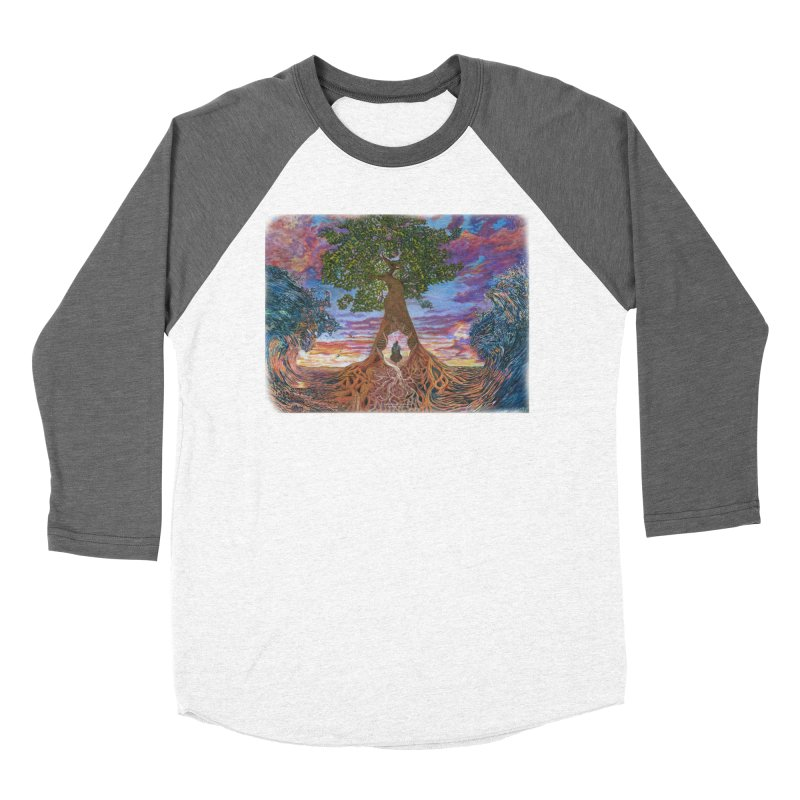 Birth Men's Baseball Triblend Longsleeve T-Shirt by Elevated Space