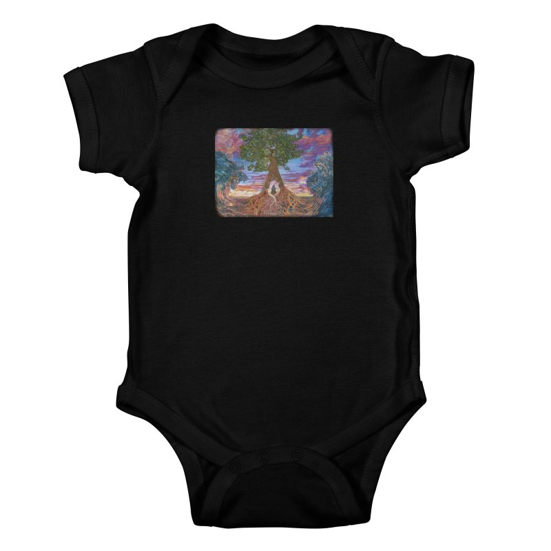 Birth Kids Baby Bodysuit by Elevated Space