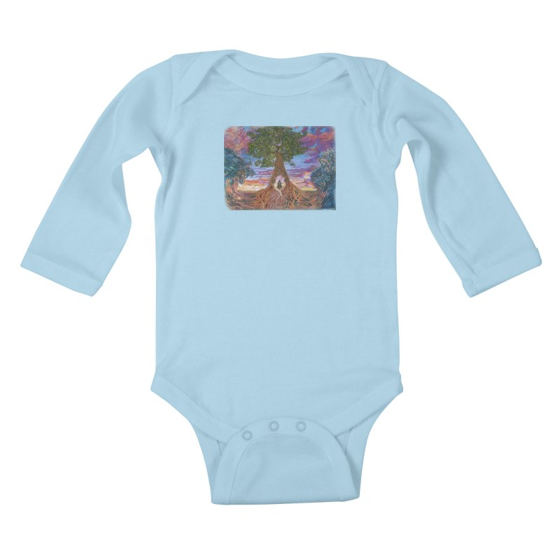 Birth Kids Baby Longsleeve Bodysuit by Elevated Space