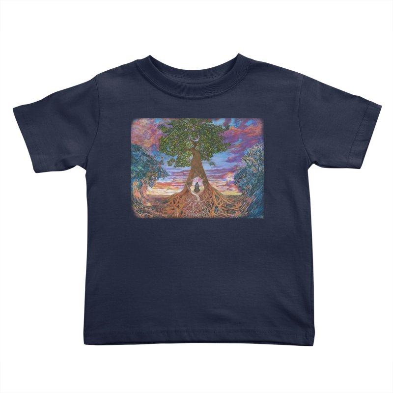 Birth Kids Toddler T-Shirt by Elevated Space