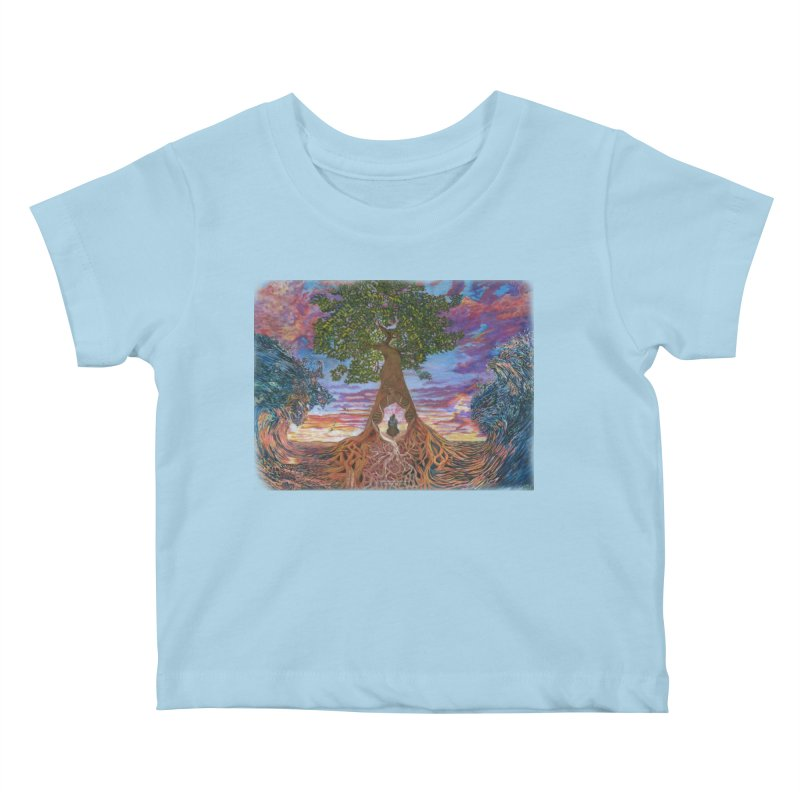 Birth Kids Baby T-Shirt by Elevated Space