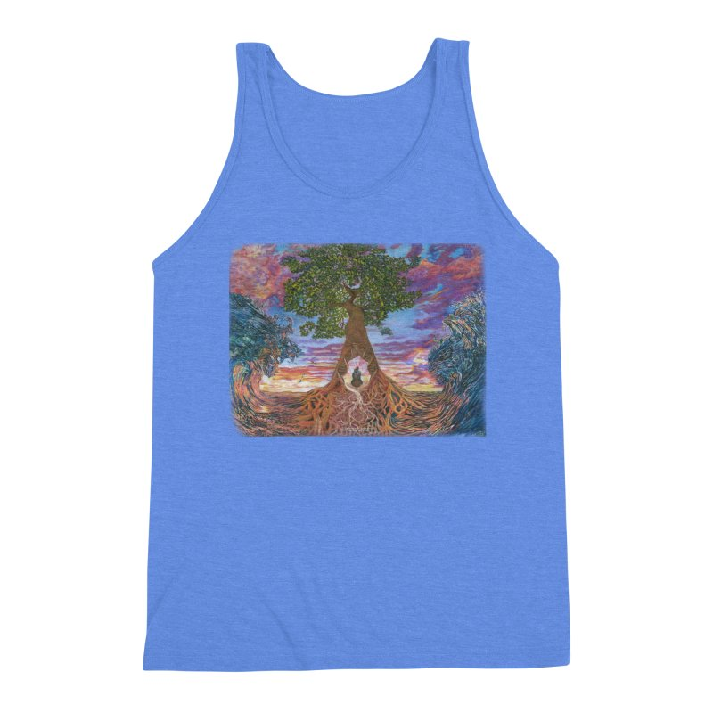 Birth Men's Triblend Tank by Elevated Space